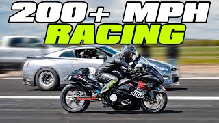 In Speed We Trust – 2500HP GT-R vs 600HP Hyabusa