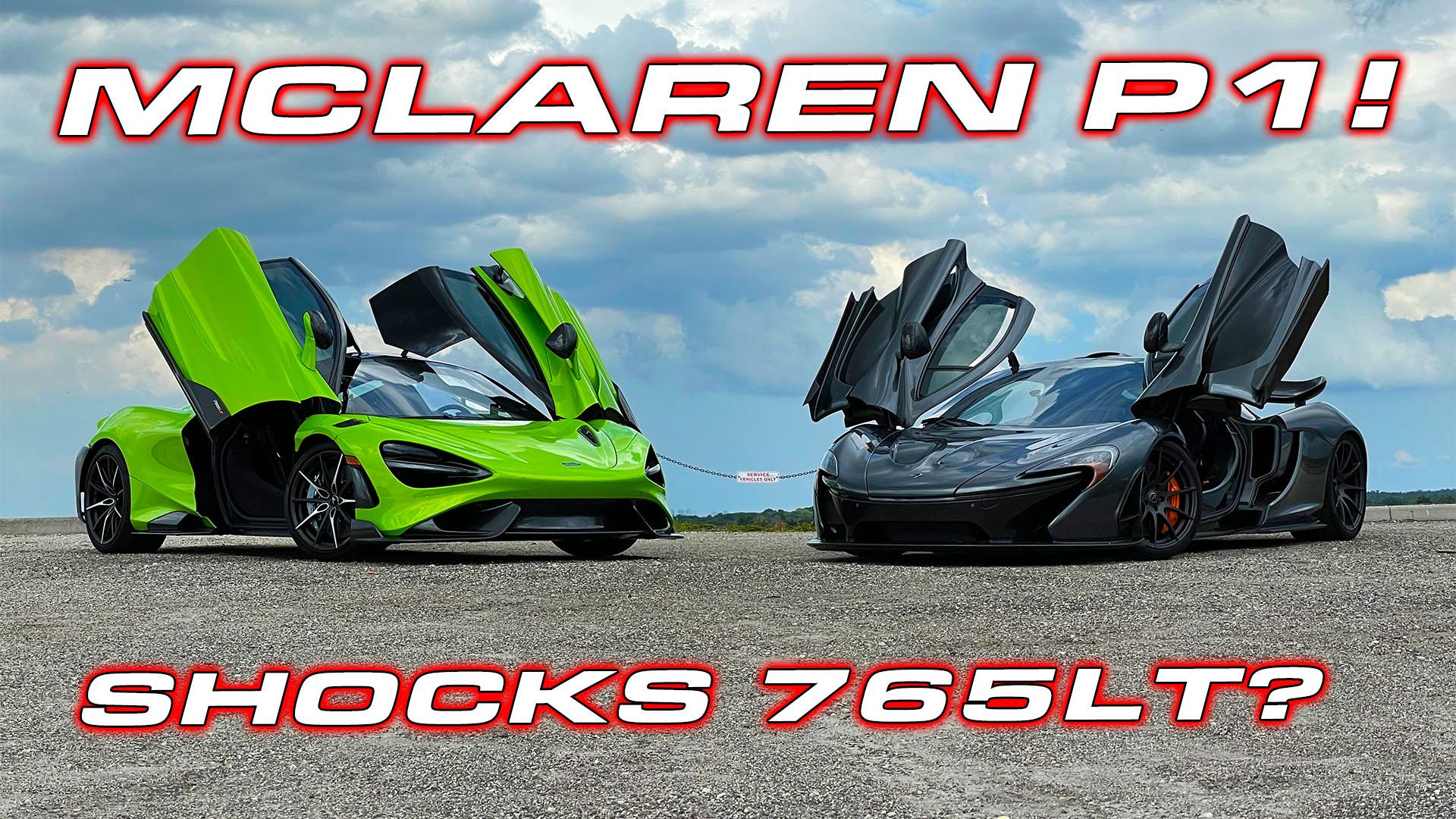 McLaren P1 surprises 765LT