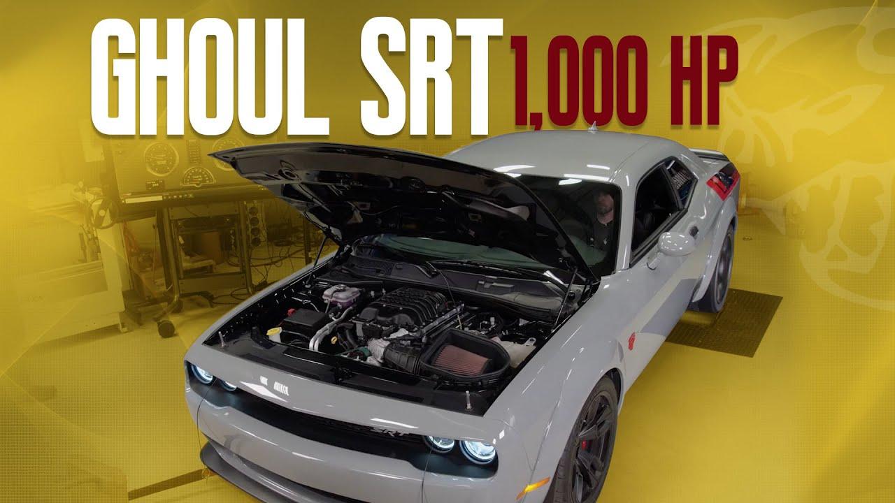 Dodge Challenger SRT Ghoul – 1000HP Hellephant Dyno Certification