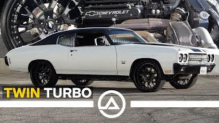 Hood Muscle – 800HP Twin Turbo 1970 Chevelle SS