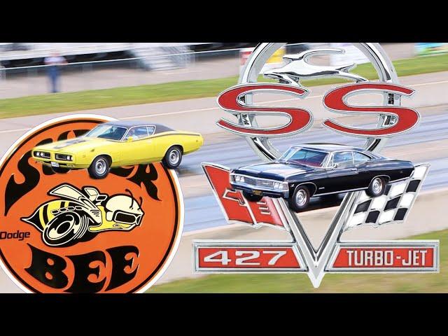 Old School Drag Racing – 1971 HEMI Dodge Charger vs 1967 Chevrolet Impala SS