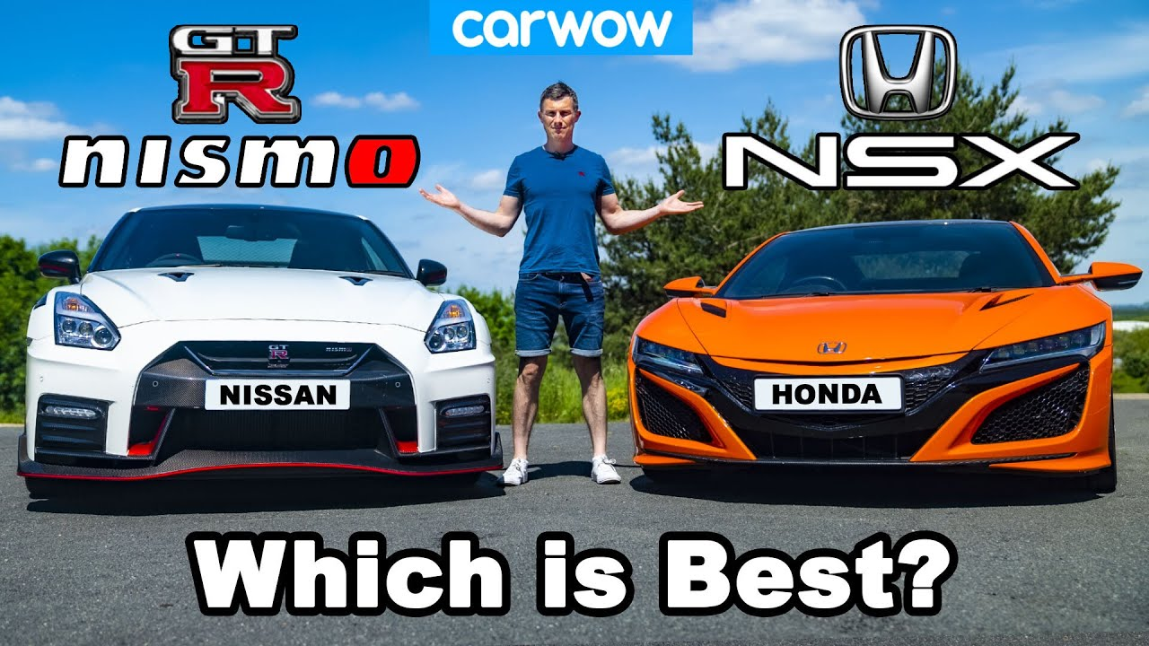 Acura NSX vs. Nismo GT-R – Drag and Roll Racing