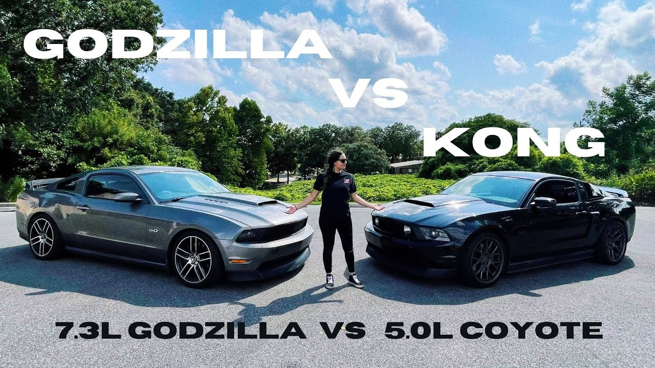 Epic Mustang Battle – Godzilla Swap vs Modified Coyote Dyno and Dig