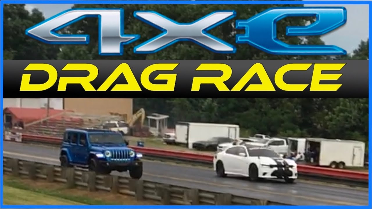 Jeep Wrangler 4xe Tears Up the Track