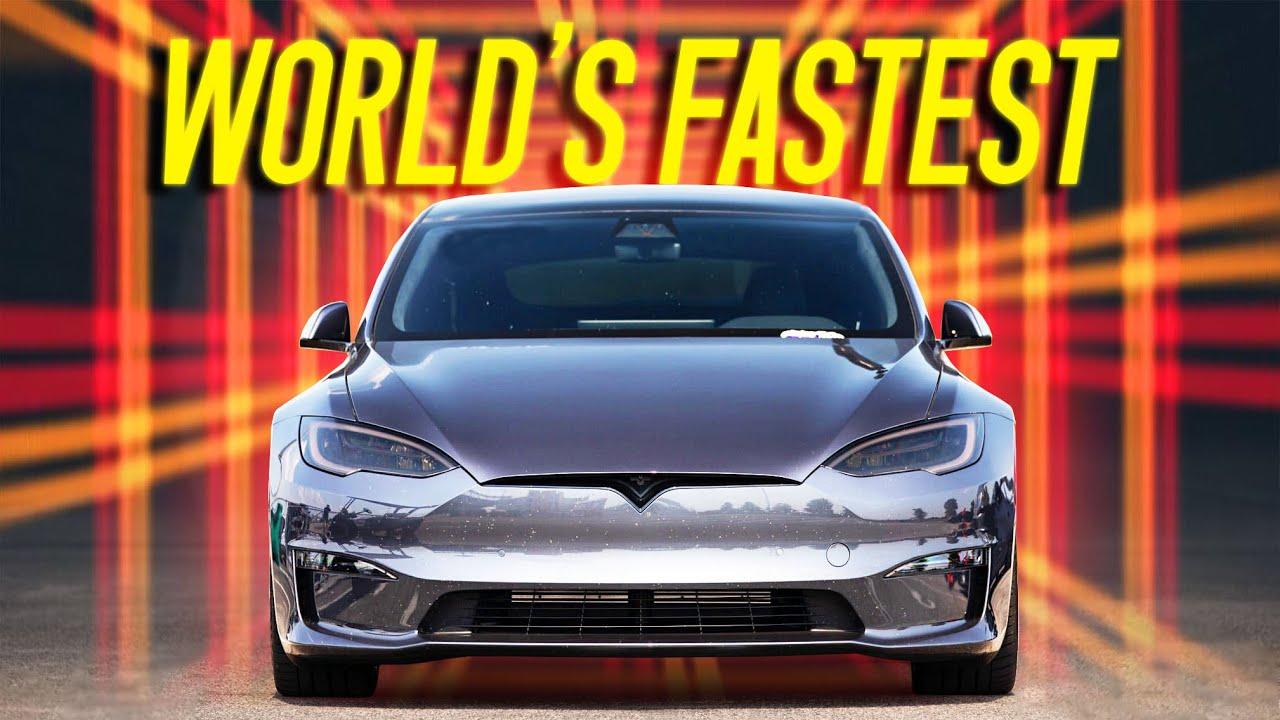 Tesla Model S Plaid World Record Pass
