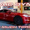 Tesla Model S Plaid Dyno