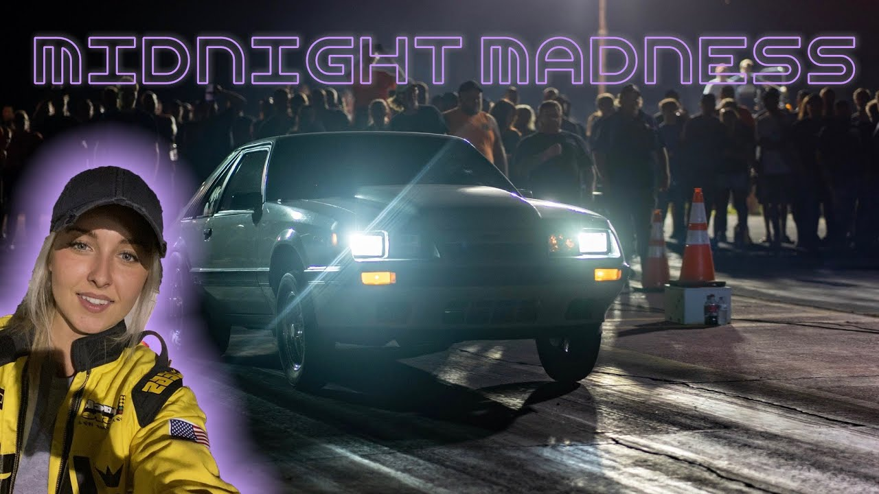 Motorsports Molly Takes Her Mustang to Midnight Madness