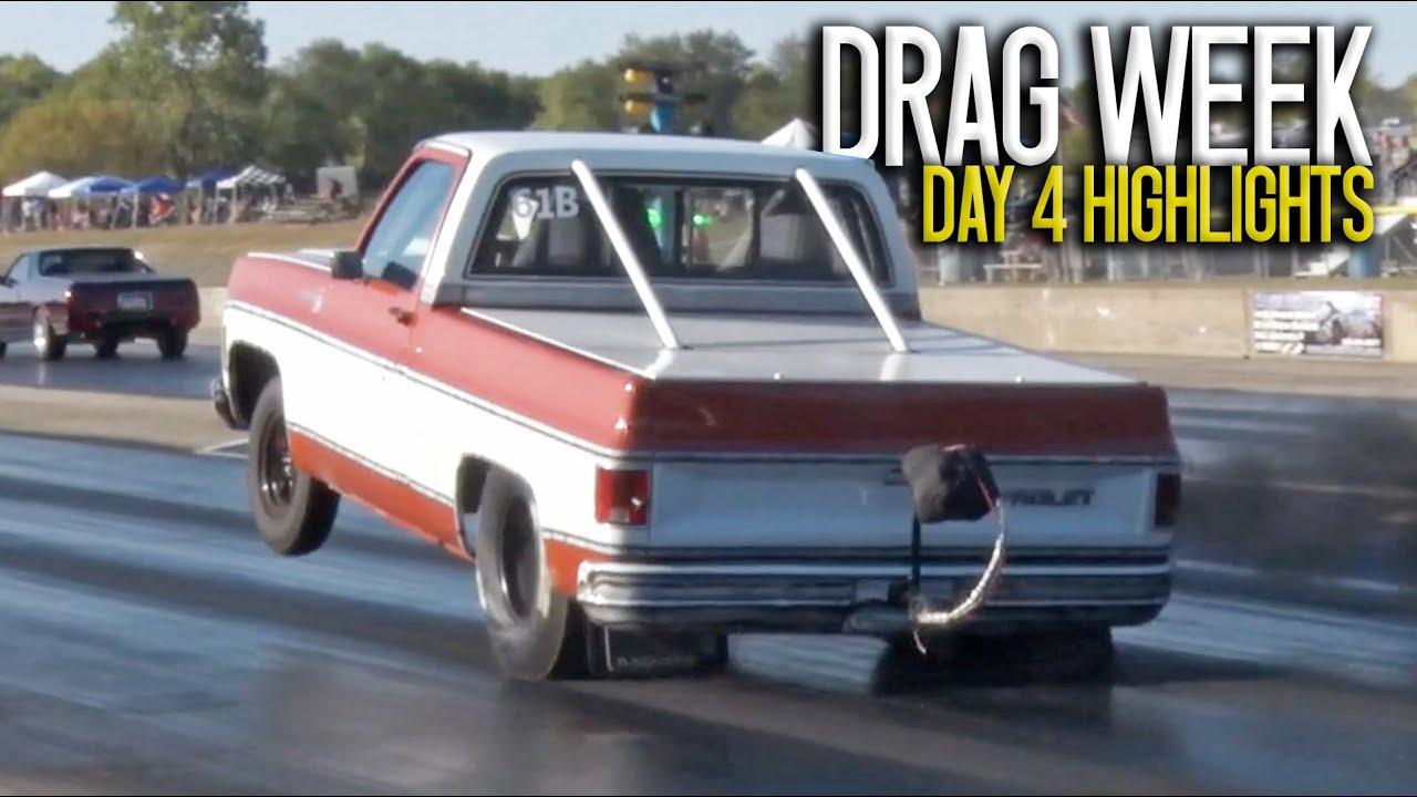 1100HP Diesel Chevy C-10 Shortbed Takes on Drag Week