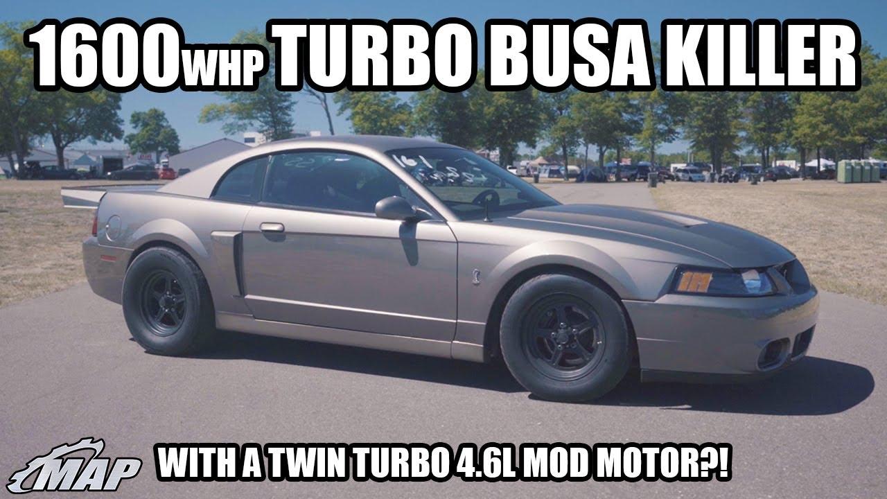 1600WHP Mustang Cobra Versus the World