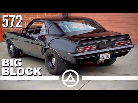 All-Motor 1969 Chevrolet Camaro – 716HP 572 C.I.D. Big Block