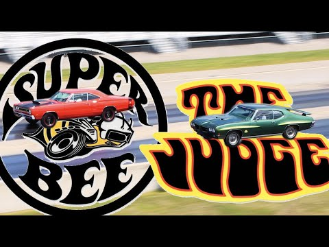 Old School Drag Racing – 1970 GTO Judge vs. 1969 Dodge Super Bee
