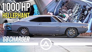 Dummbo – 1,000HP Hellephant Swapped 1968 Dodge Charger