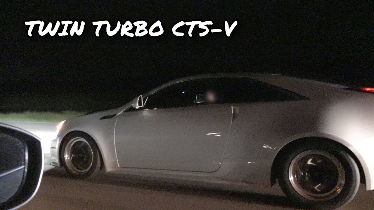 Twin Turbo Cadillac CTS-V vs. Imports and Domestics – Interstate Street Hits