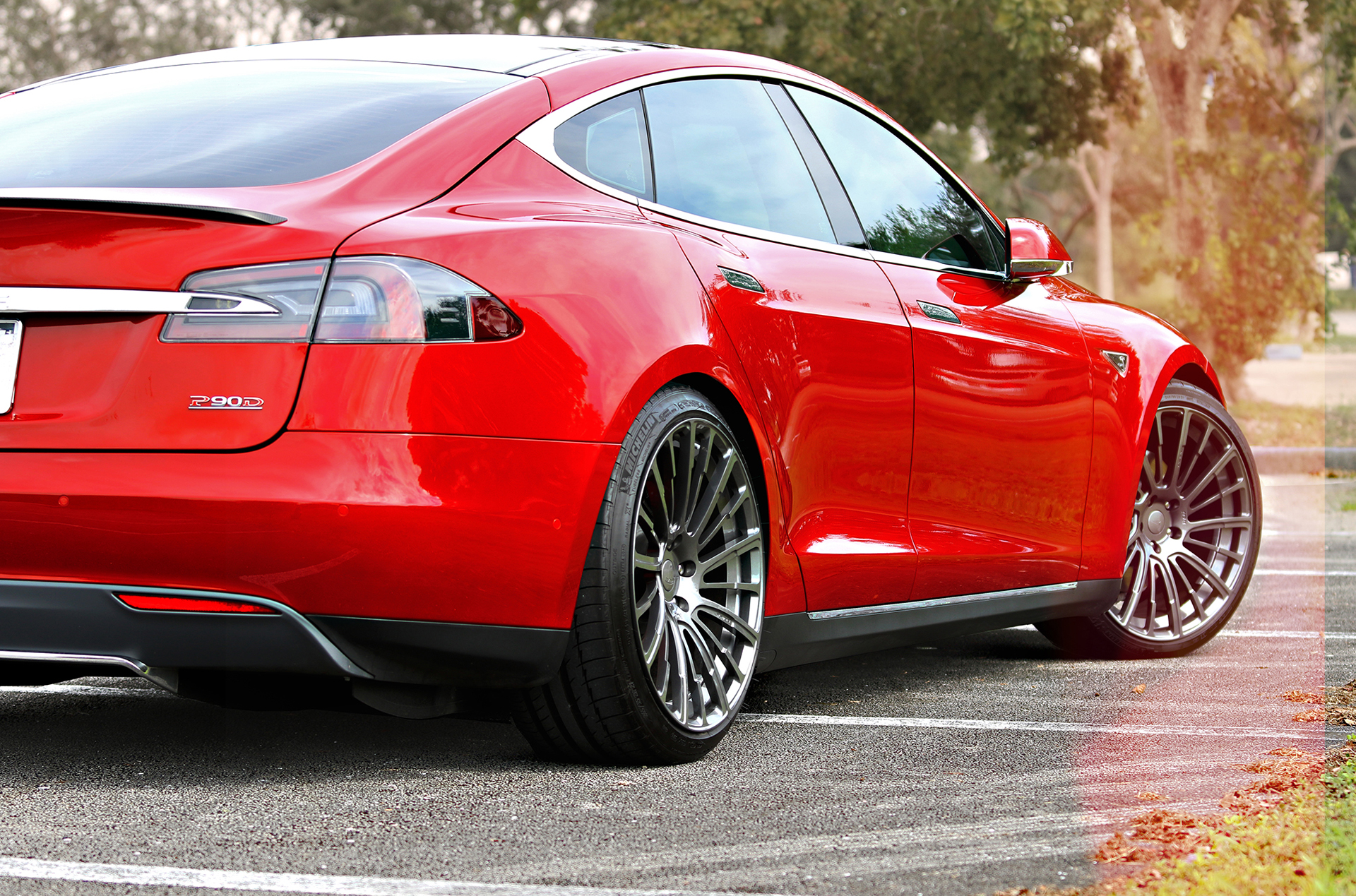 tesla model s p90d ludicrous with light weight pulse wheels drag racing fast. Black Bedroom Furniture Sets. Home Design Ideas