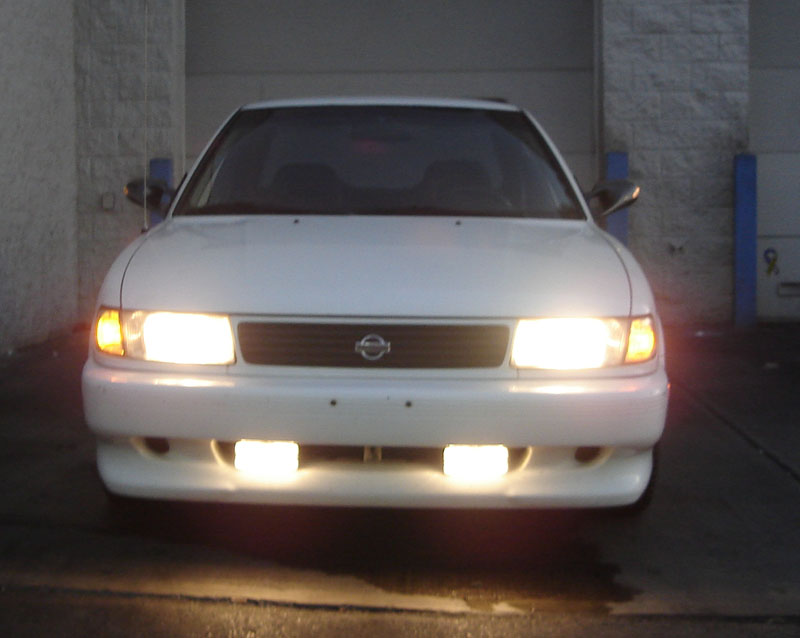 1994  Nissan Sentra SE-R picture, mods, upgrades