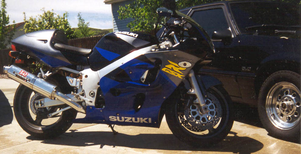 1997  Suzuki Motorcycle GSX-R 600 picture, mods, upgrades