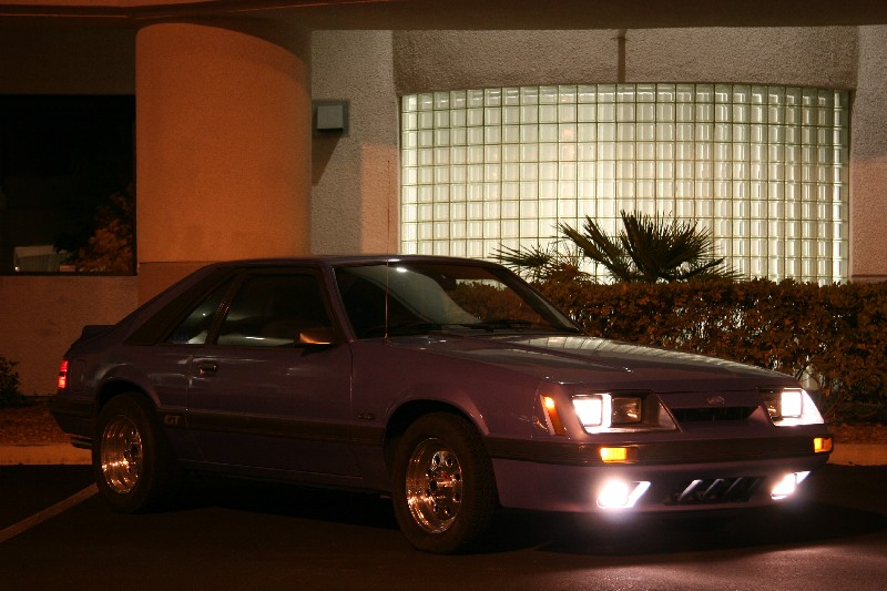 1986  Ford Mustang GT picture, mods, upgrades