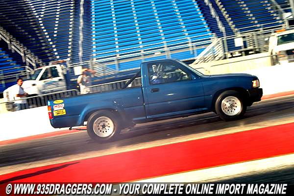 1993 toyota pickup 1 4 mile drag racing timeslip specs 0 60. Black Bedroom Furniture Sets. Home Design Ideas