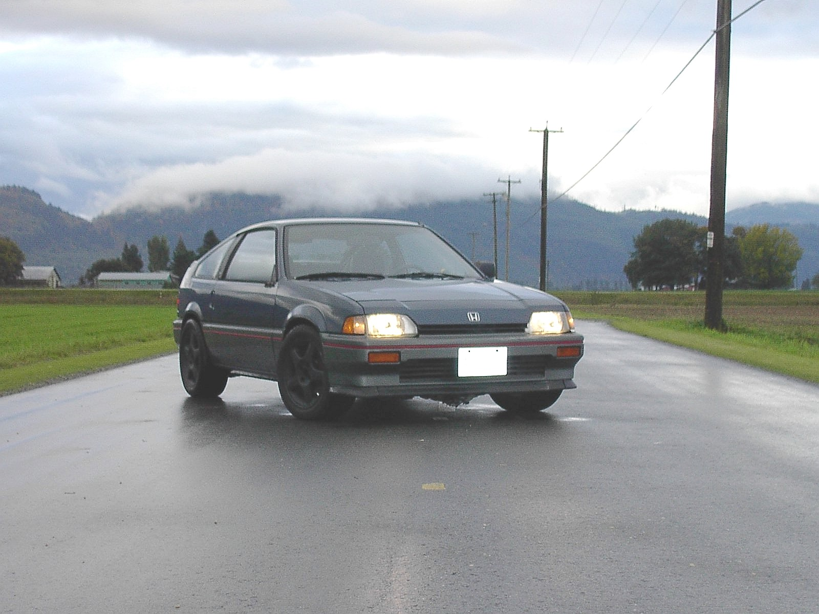1987  Honda Civic CRX HF picture, mods, upgrades