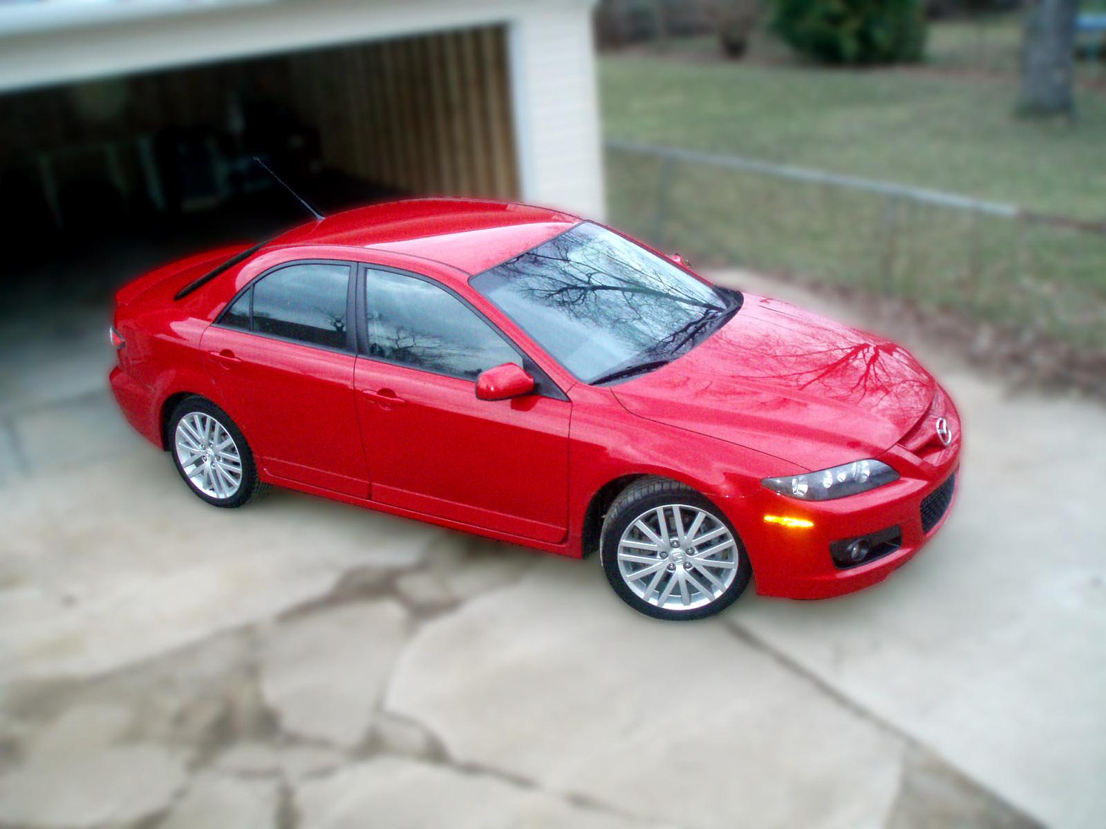 Stock 2006 Mazda 6 Speed6 1 4 mile Drag Racing timeslip specs 0 60