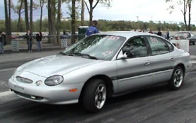 1999 Ford Taurus SE 1/4 mile Drag Racing timeslip specs 0 ...