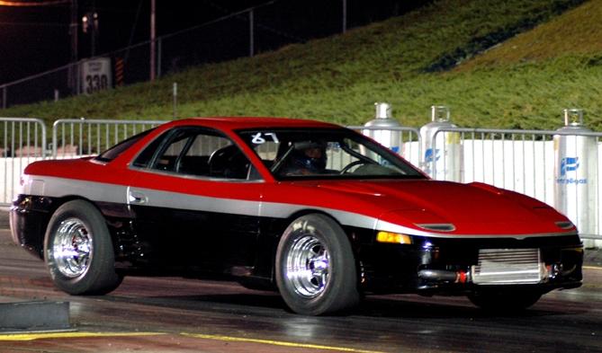 1991 Mitsubishi 3000gt Vr4 1 4 Mile Trap Speeds 0 60 Dragtimes Com