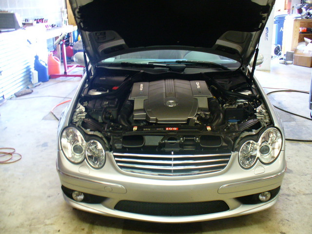 2005  Mercedes-Benz C55 AMG  picture, mods, upgrades
