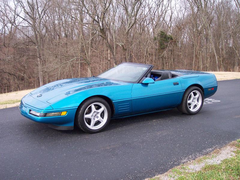 1994 Chevrolet Corvette C4 Nitrous 1/4 mile trap speeds 0-60