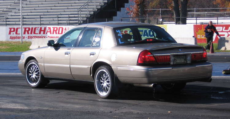 2001  Mercury Grand Marquis LS picture, mods, upgrades