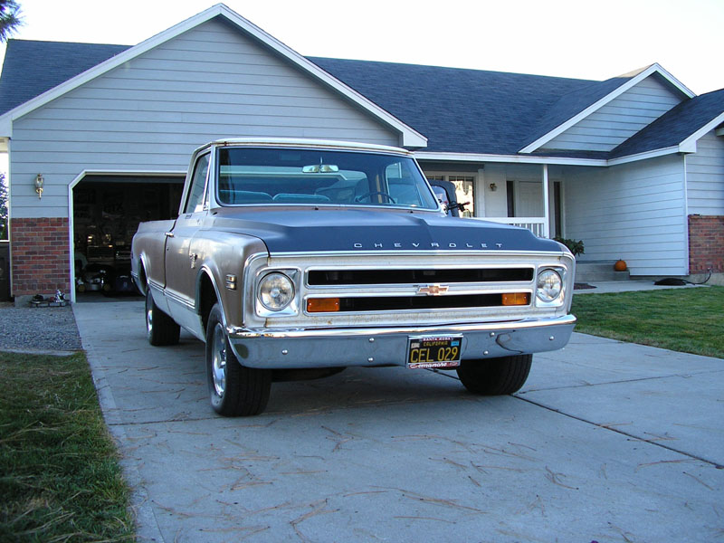 1968  Chevrolet CK1500 Truck C10 picture, mods, upgrades