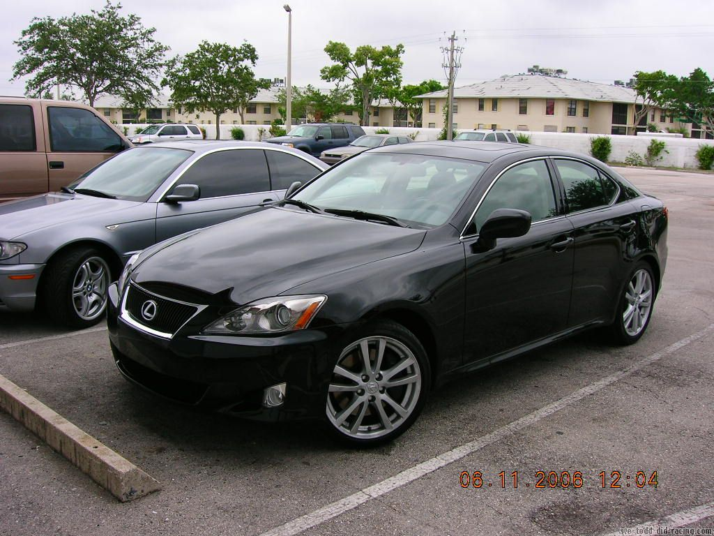 stock 2006 lexus is350 luxury package 1 4 mile trap speeds. Black Bedroom Furniture Sets. Home Design Ideas