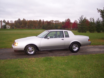 1985  Buick Grand National t-type picture, mods, upgrades