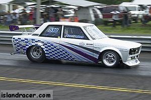 1972 Datsun 310 datsun 510 drag car