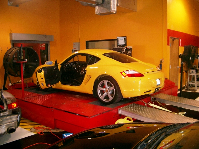 2006 Porsche Cayman S Stock w/o Factory Air-Restrictor