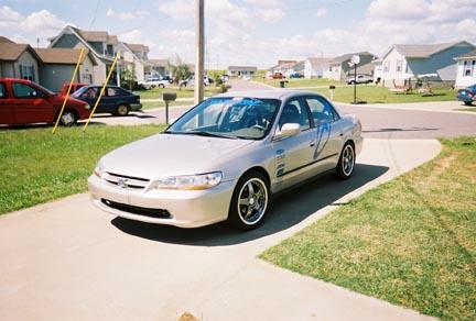 1999 Honda Accord LX 1/4 mile trap speeds 0-60 - DragTimes.com