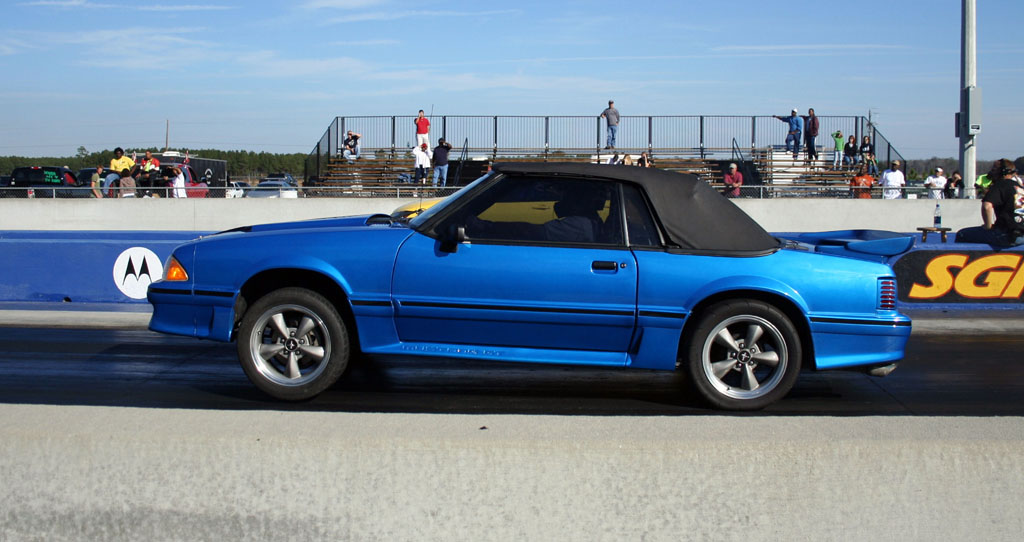1988 Ford Mustang Gt Convertible Vortech Supercharger