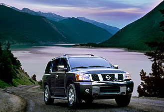2004  Nissan Armada SE picture, mods, upgrades
