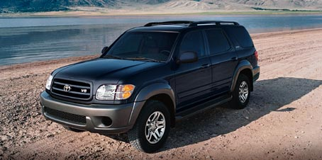 2004  Toyota Sequoia SR5 picture, mods, upgrades