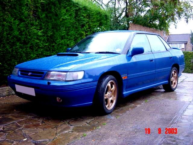 1993  Subaru Legacy UK SINGLE TURBO picture, mods, upgrades
