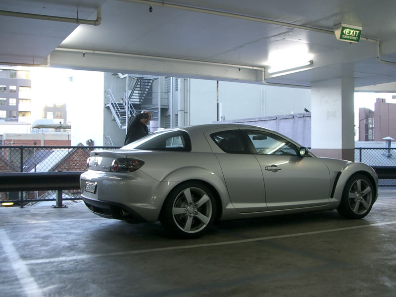 2003  Mazda RX-8 5spd picture, mods, upgrades