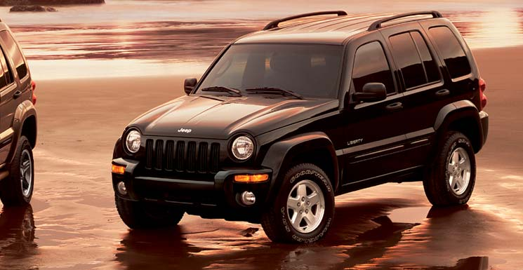 Stock 2004 Jeep Liberty Limited 14 Mile Trap Speeds 060