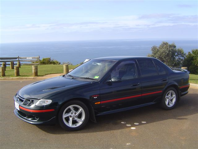 1995  Ford Falcon XR6 picture, mods, upgrades