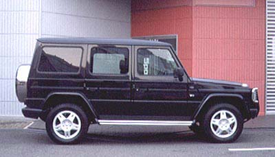 2002  Mercedes-Benz G500  picture, mods, upgrades