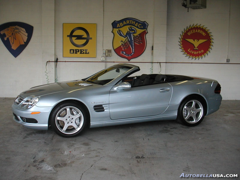 stock 2003 mercedes benz sl55 amg 1 4 mile drag racing timeslip specs 0 60. Black Bedroom Furniture Sets. Home Design Ideas