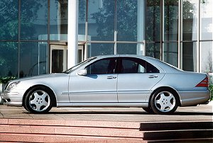 2002  Mercedes-Benz S55 AMG  picture, mods, upgrades