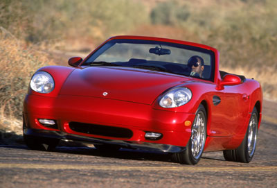 2003  Panoz Esperante  picture, mods, upgrades