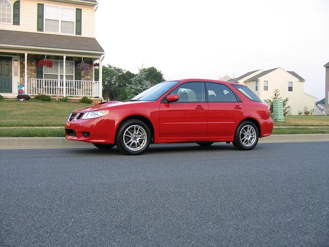 2005 Saab 9-2x Aero picture, mods, upgrades