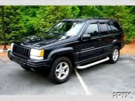 1998 Jeep Grand Cherokee 5 9 Limited 1 4 Mile Drag Racing Timeslip