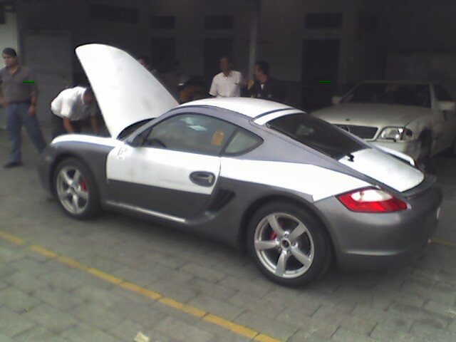 2006  Porsche Cayman S picture, mods, upgrades