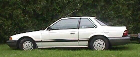 1987  Honda Prelude Base picture, mods, upgrades